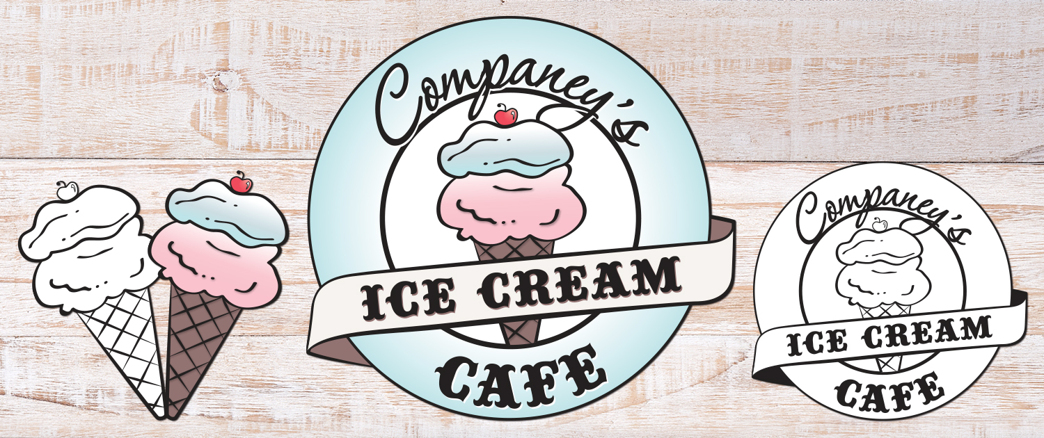 Companey's Ice Cream Cafe logo