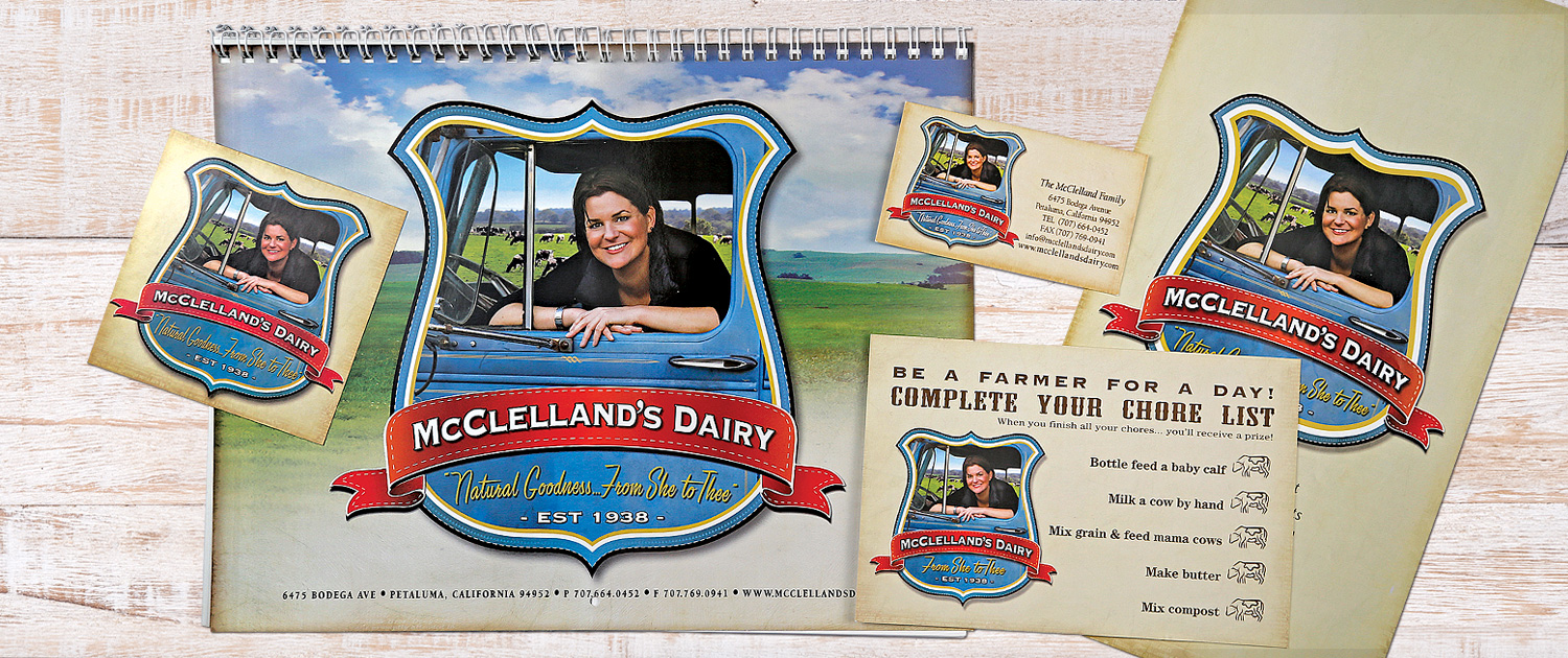 McClelland's Dairy samples