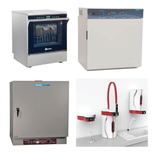 Washers, Incubators, Ovens and Cleaning