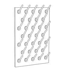 Laboratory Fittings: Pegboard