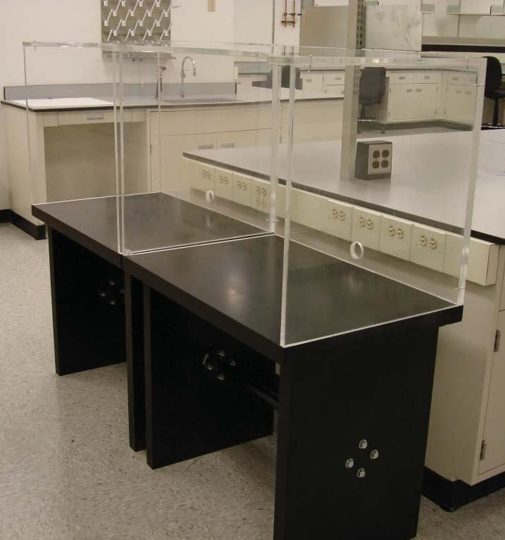 Chemical Resistant Lab Tables