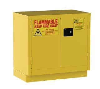 Utah Lab Cabinets two Door Flammable Cabinets