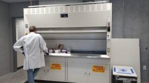 Handling Hazardous Drugs Fume Hood