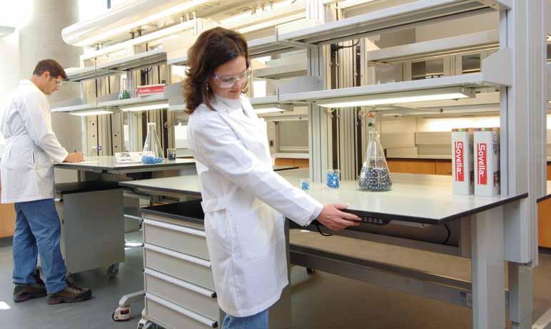 Laboratory Adjustable Tables