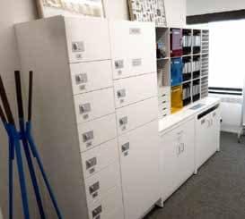 healthcare modular lockers