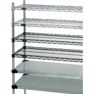 Wire Lab Shelving optional shelving options
