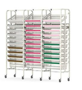 medical inventory shelving systems