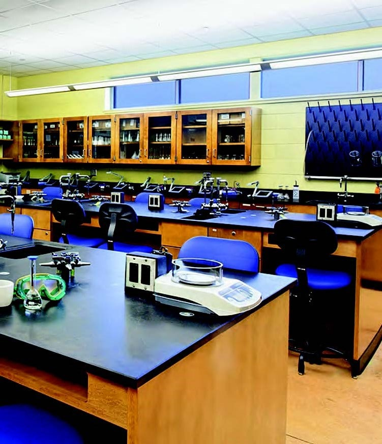 Premier Laboratory Wood Casework