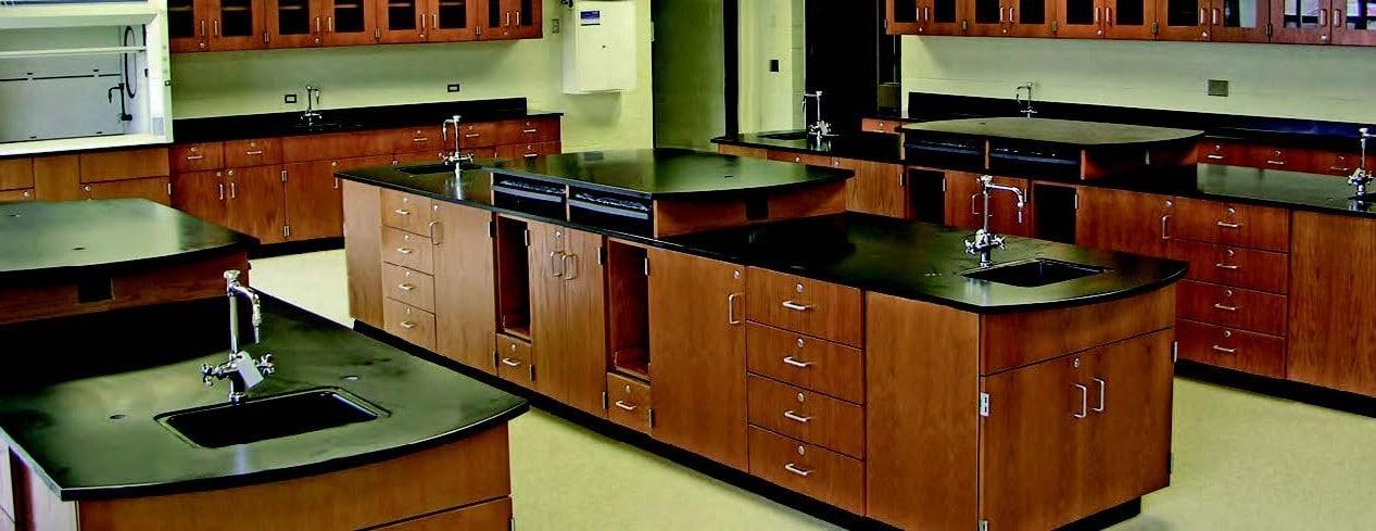 Laboratory Wood Casework