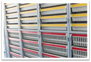 High-Density Storage Bins