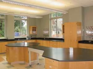 Laboratory Wood Cabinets