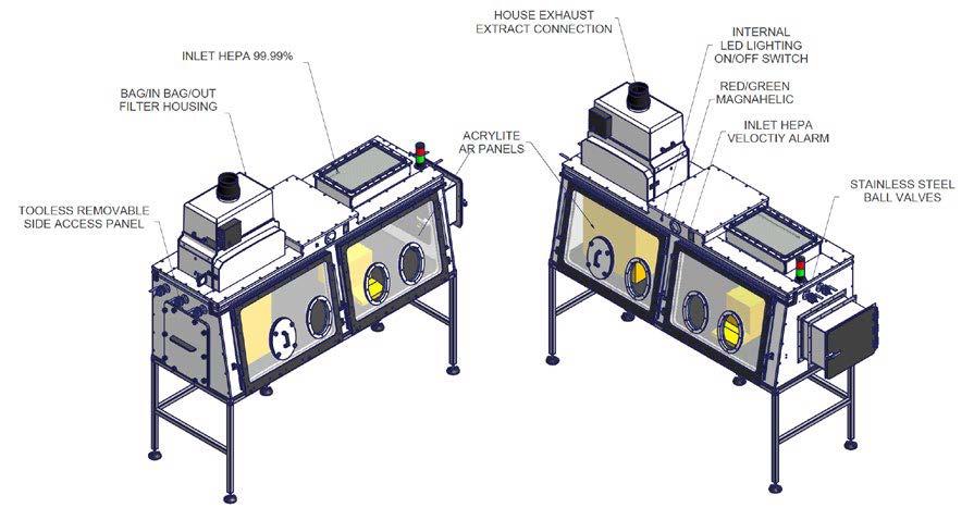 Binder Oven Enclosures