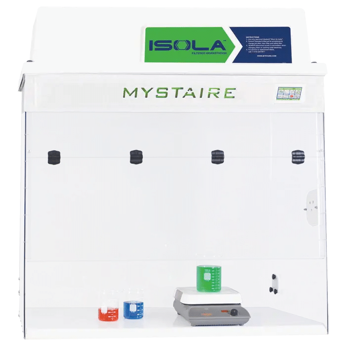 Isola VUE Filtered Fume Hood with EverSafe III Touch Microprocessor controller. 110V