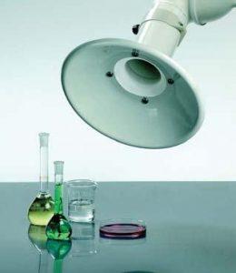 Laboratory Fume Hoods: Exhaust Snorkels