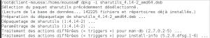 Configuration serveur DHCPv6 machine cliente