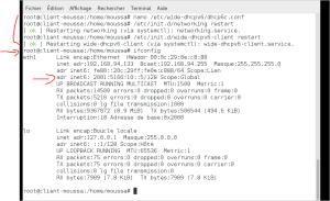 Configuration serveur APACHE, DHCPv6 sous IPv6