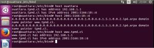 Configuration serveur DNS en IPv6