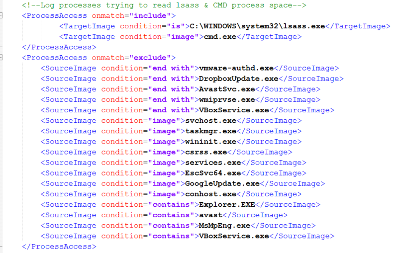 Example configuration file