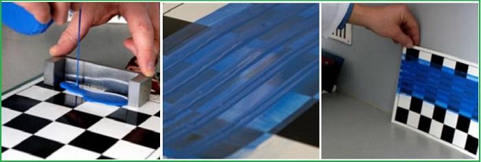 Cách sử dụng dụng cụ đo độ nhăn màng của sơn