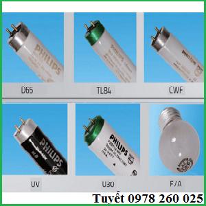 Bóng đèn tiêu chuẩn cho tủ so màu D65/TL84/CWF/UV/F