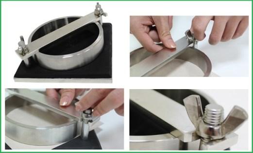 Cách sử dụng dụng cụ đo độ thấm nước của giấy QC-102