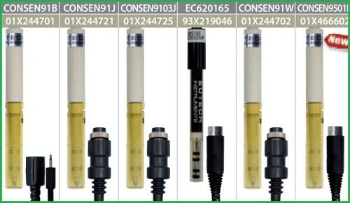 Điện cực cho máy đo độ dẫn điện trong dung dịch dạng cầm tay Eutech