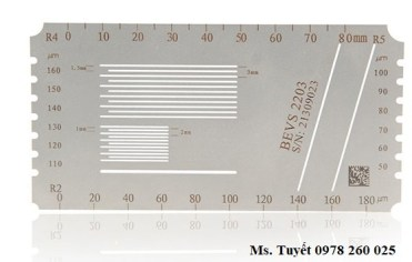 BEVS 2203 Multi hatch Gauge