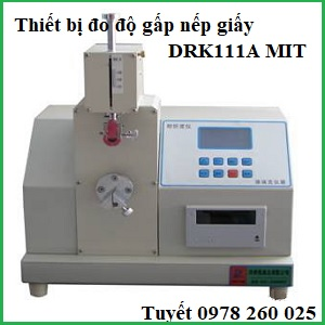 Thiết bị đo độ gấp bền giấyTrung QuốcDRK111A