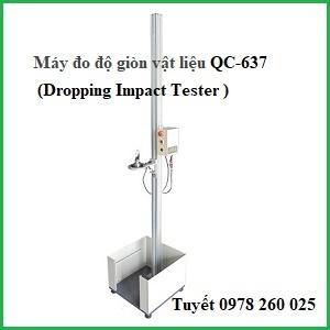 Máy đo độ bền va đập vật liệu QC-637