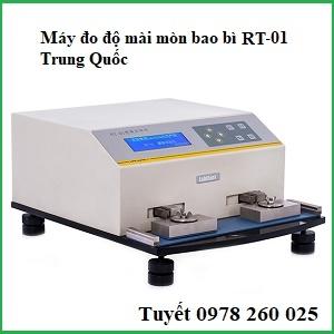 Máy kiểm tra độ mài mòn bao bì in RT-01 của Trung Quốc