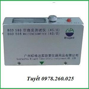 Thiết bị kiểm tra độ trắng whiteness meter Trung Quốc
