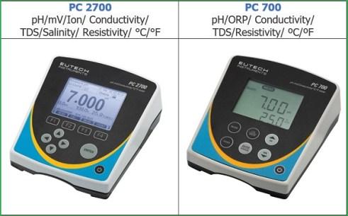 Máy đo đa chỉ tiêu để bàn PC 2700 và PC 700