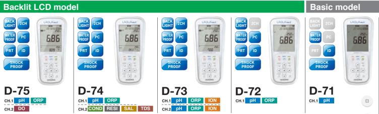 Máy đo pH cầm tay Nhật Bản