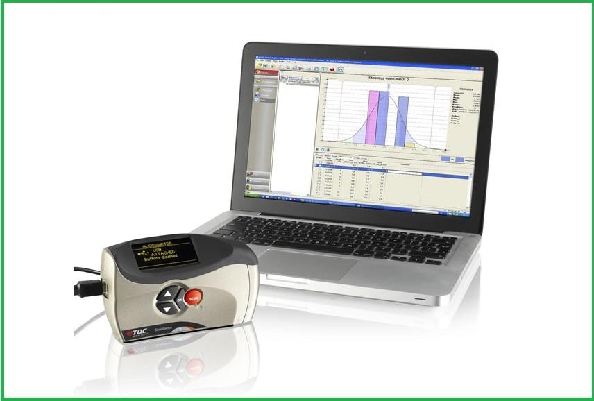 Phần mềm phân tích độ bóng của máy đo Tqcsheen