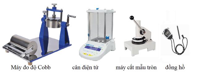 Đo độ Cobb của giấy- Phương pháp xác định độ hút nước của carton