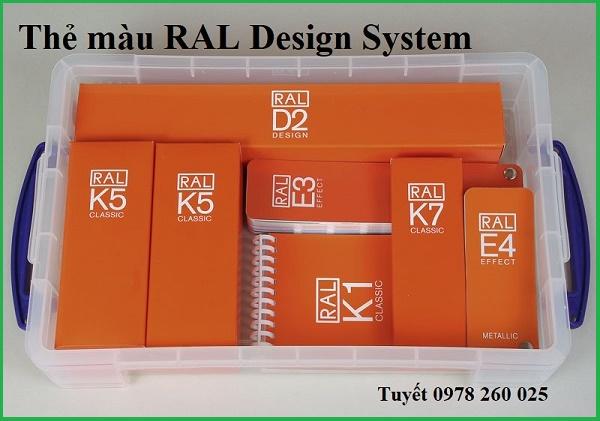 quạt màu Ral K5, Ral K7