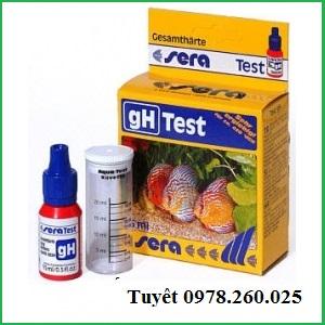 Test gH - Dụng cụ kiểm tra độ cứng nước