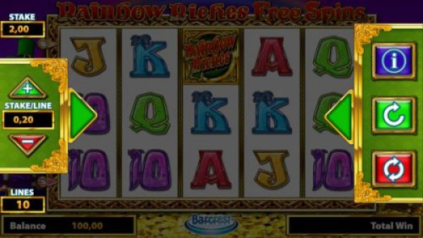 How to play Rainbow Riches Free Spins?