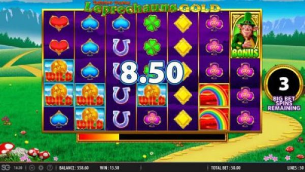 New slot Rainbow Riches Leprechaun's Gold