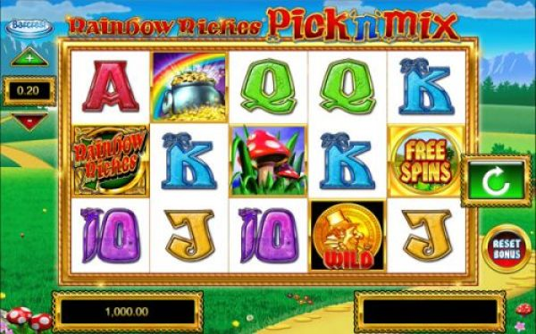 Why should you play Rainbow Riches Pick N Mix?