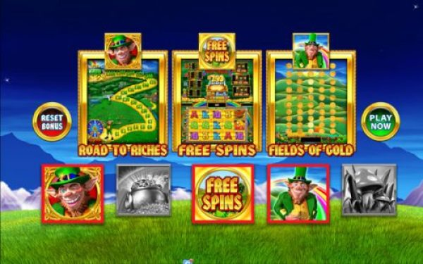 Rainbow Riches Cheat 1: Select only one bonus feature