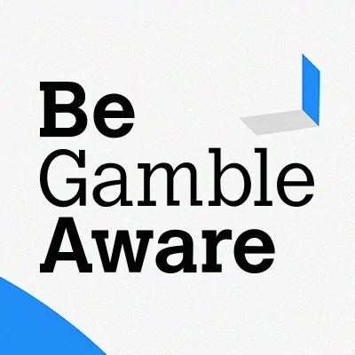 Be Gamble Aware disclaimer