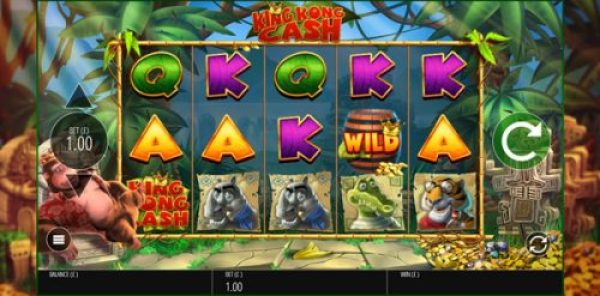 king kong cash slot machine