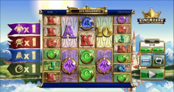 New slot Kingmaker by Big Time Gaming