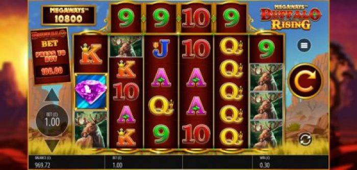 Play Buffalo Rising Megaways Slots