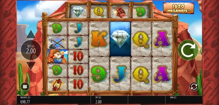 Play Diamond Mine Megaways Slot