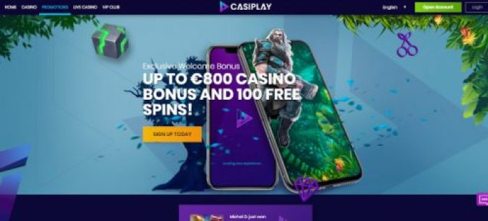 Casiplay casino welcome bonus