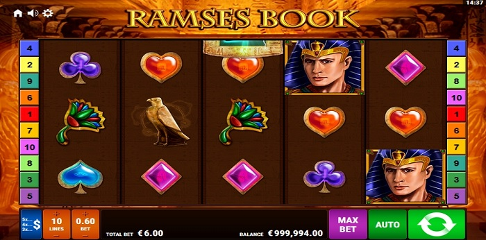 Ramses Book Autoplay Max Bet
