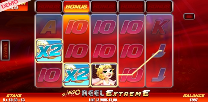Slingo Reel Extreme online slot another game win