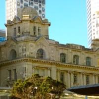 St.Albert Park and the Auckland Art Gallery